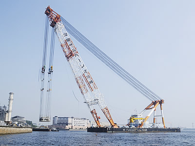 Fuji | Register of Ships : Crane Barges | Our Fleet | FUKADA SALVAGE